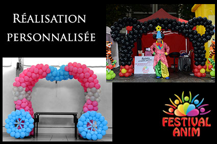carosse ballon decoration