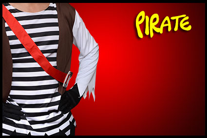 costume personnage pirate