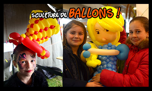 sculpture ballon fee clochette